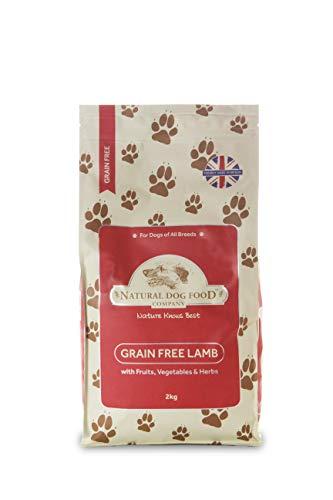アランズ ナチュラル ドッグフード ラム (2kg) 全犬種 全年齢 対応 グレインフリー 穀物 香料 着色料 不使用