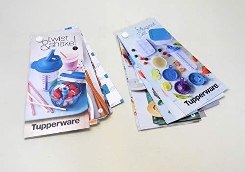 Tupperware Rezeptkarten Turbo-Chef Mix-Fix Shaker+Rezeptkarten Shaker Küchenperle Eiswürfler Cocktail Rezeptideen