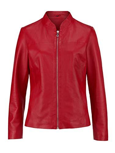 MONA Lederjacke aus Lamm- Nappa- Leder Rot