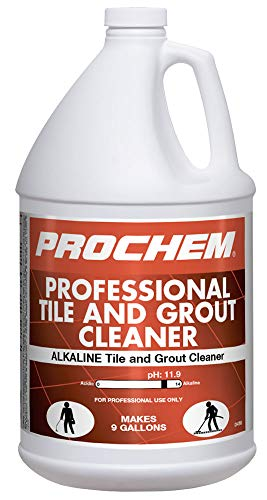 Prochem Professional Tile & Grout Cleaner, Deep Cleans, Industrial Strength, Removes Tough Stains, 1 Gal, D456-1m