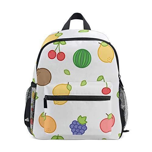 MALPLENA Bolsa de viaje para niños Fruits Painting School bag