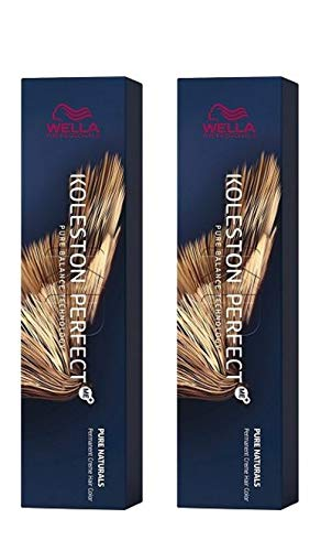 Wella 2 er Pack Koleston Perfect Me+ KP PURE NATURALS 9/01 lichtblond natur-asch