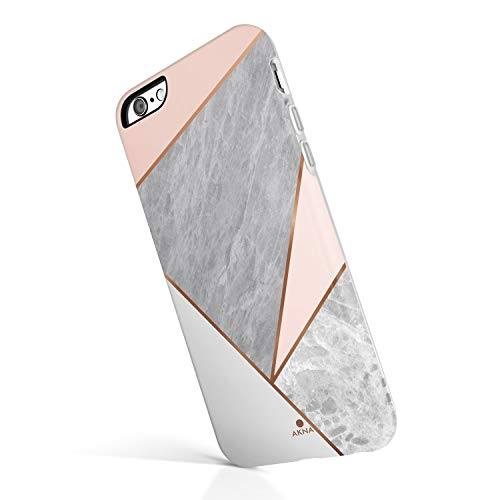 iPhone 6 Plus & iPhone 6s Plus Case for Girls, Akna Geometric Design Hard Sillicon Cover (924-US)