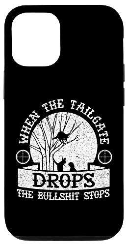 iPhone 12/12 Pro Coon Hunting When The Tailgate Drops Funny Raccoon Hunting G Case