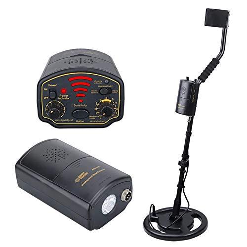 SHBV Detector de Metales preciso Profundidad subterránea 1.8M / 3M AR944M Herramienta de búsqueda de escáner 1200Ma Li-Battery Linterna de visión Nocturna para Gold Digger Treasure Seeking Hunt