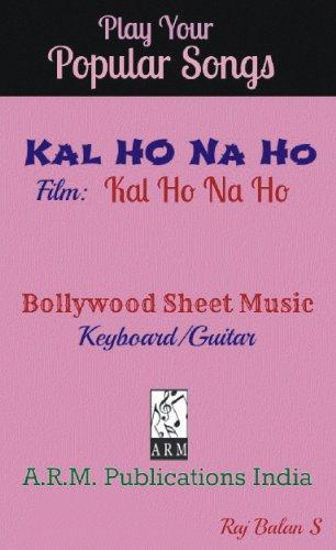 KAL HO NA HO sheet music (English Edition)