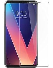 Microcase LG V30 Tempered Glass Cam Ekran Koruyucu SAYDAM