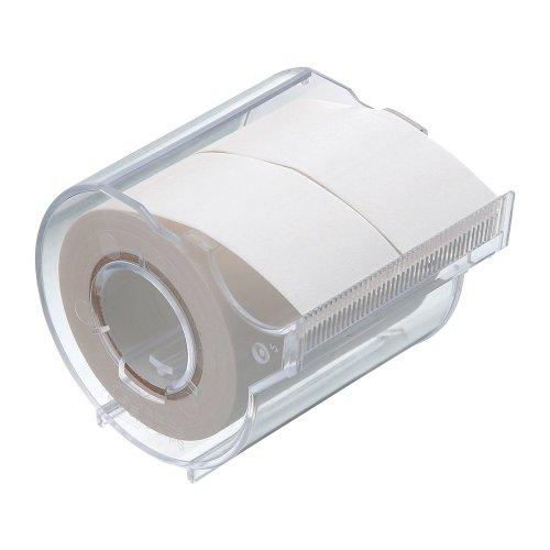 ヤマト 付箋 メモック ロールテープ カッター付き 25mm×10m R-25CH-5 白