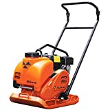 Multiquip MVC82VHW Honda GX160 Plate Compactor with Water Tank, 18' Wide - Black/orange