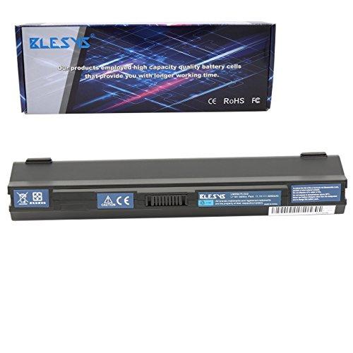 BLESYS - 11.1V 4400mAh UM09B31 UM09A71 UM09B73 Batteria Compatibile con Acer Aspire One ZA3 ZG8 Serie Batteria del Computer Portatile