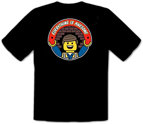 Everything Is Awesome Lego Super Mario Fun Camisetas T-Shirt - 050 -SW