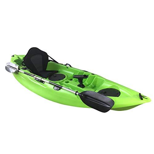 Cambridge Kayaks ES, Zander Verde Solo Kayak DE Pesca Y Paseo, RIGIDO,