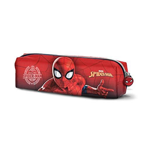 Karactermania Spiderman Spiderweb-Quadrat Federmäppchen