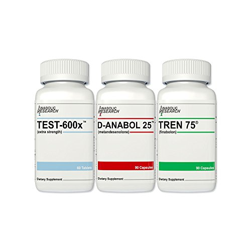 Ultimate Growth Stack - Test-600x™, D-Anabol 25™, Tren 75® - 1 Month Supply