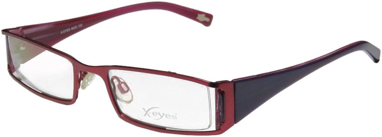 Continental Contemporary Female Eyewear XEyes 105 Womens Ladies Designer Fullrim Eyeglasses Eyewear