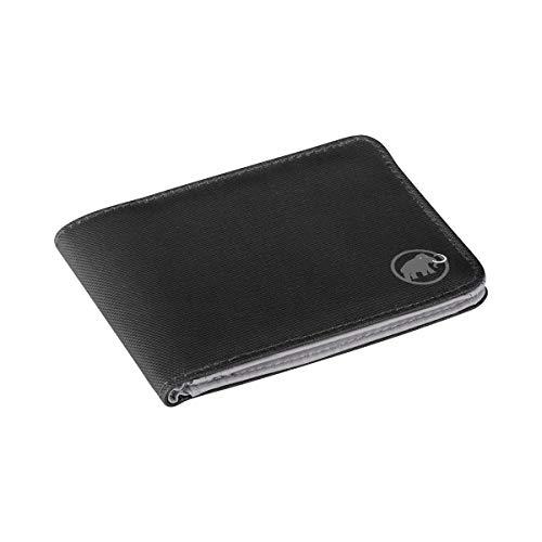 Mammut Uni Geldbörse Geldbörse Flap Wallet, schwarz, one size