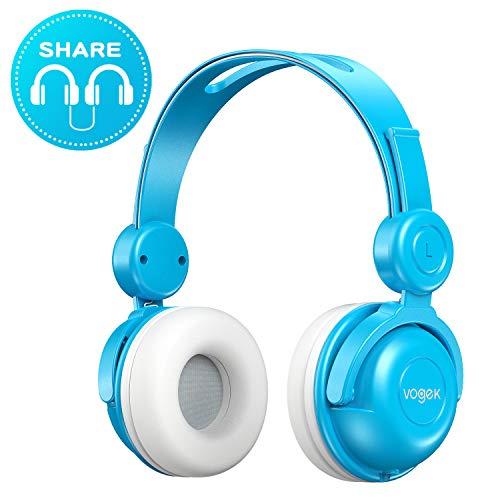 Kids Headphones, Vogek Wired On-Ear Child Headphone Headset...