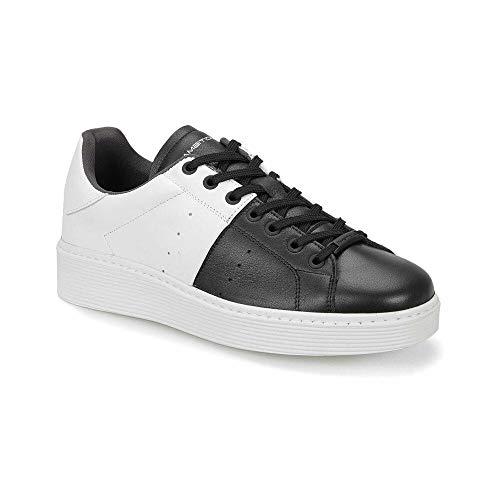 Men's Bi-Color Leather Shoes-L-37