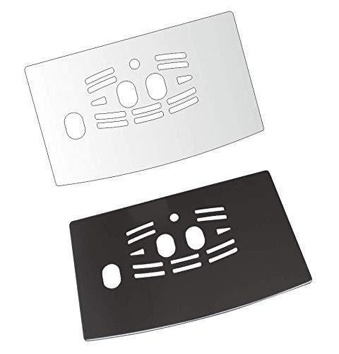 3 x Schutzfolie für DeLonghi ECAM 23.266-23.450 - 23.460-23.466 - 24.450-24.467 Abtropfblech - Tassenablage - Abstellblech