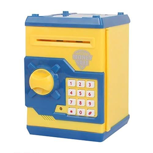 Hefu Children's Electronic Money Box, Children Password Lock Case, with Smart Voice Children's Toy Money Box, Best Toy Gifts for Boys Girls (E)