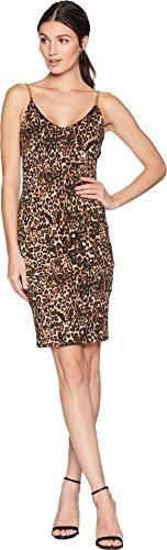 Bebe Damen-Kleid mit Kuhrücken - Gold - 44