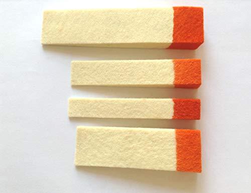 4 x Longitud (13cm 9,5 cm 10 cm) Piano Tuning Herramientas de Sonido Stop de Fieltro Tapón de Lana de fieltro Piano Mantenimiento Accesorios de Reparación