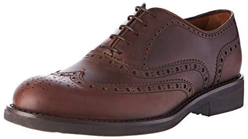 Lottusse T2062, Zapatos Cordones Derby Hombre, Marrón