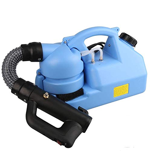 ATHLERIA 7L Electric ULV Fogger - Portable Ultra-Low Atomizer Sprayer - Spray Machine Suitable for Indoor and Outdoor Public 110V