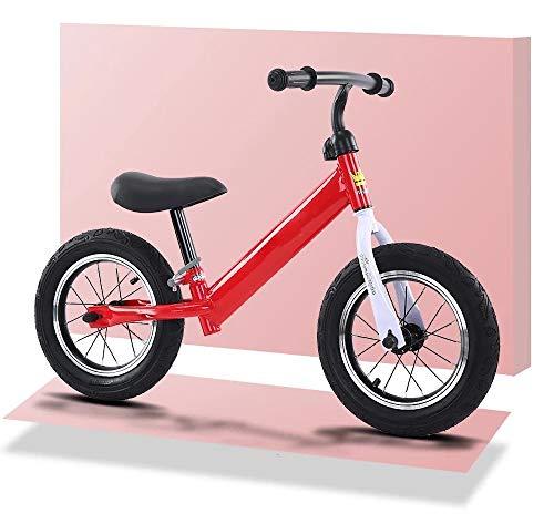 Bicicleta De Equilibrio para NiñOs, Bicicleta De Equilibrio Sin Pedales para NiñOs PequeñOs De 2 A 6 AñOs, Bicicleta De Entrenamiento Ligera con Asiento Ajustable