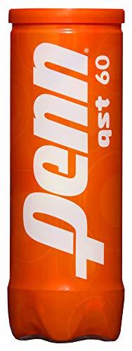 Bolas de tênis Penn QST 60 – Bolas de feltro laranja para iniciantes – 1 lata, 3 bolas