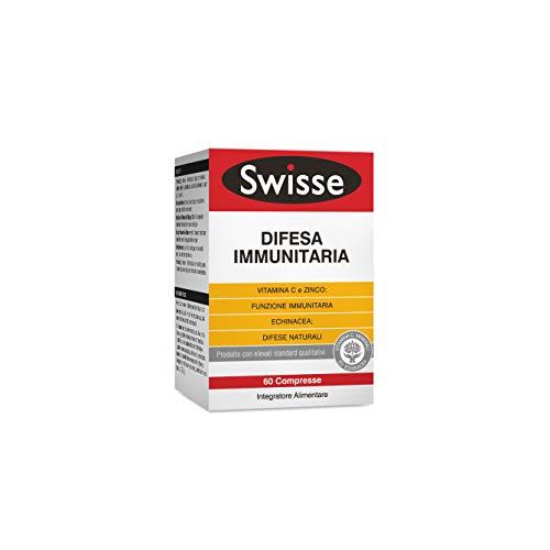 Swisse Difesa Immunitaria, Integratore Alimentare per il Sistema Immunitario, 60 Compresse