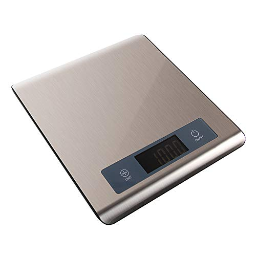 YRLE Household Kitchen Bluetooth Electronic Scale, Portable Food Baking Nutrition Analysis Scale, Precision Stainless Steel Unit Conversion Bluetooth Scale