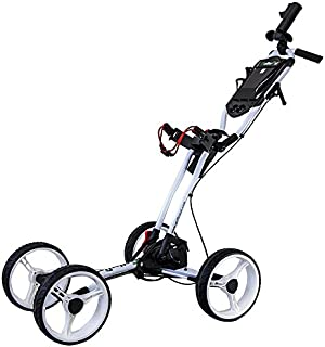 GolferPal EasyPal Electric Auto-Folding/Unfolding Golf Push Cart
