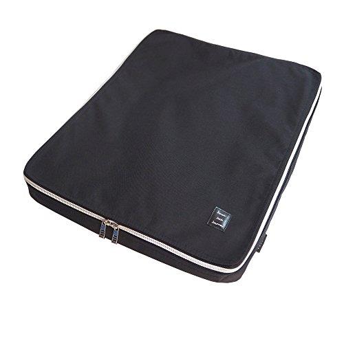 コンパクトガーメントケース [コーデュラナイロン] スーツ ジャケットをコンパクトに収納 撥水加工 旅行 出張