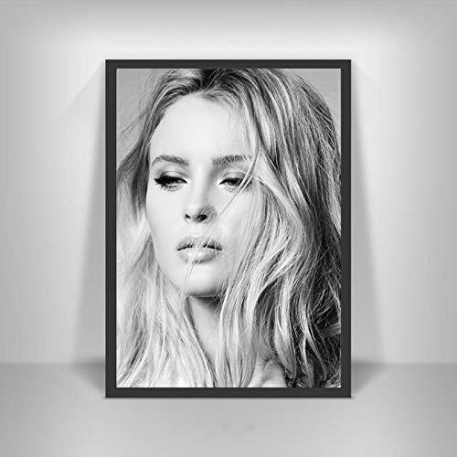 YF'PrintArt Leinwanddrucke Zara Larsson Poster Schwedische Musiksängerin Star Wall Art Picture Poster Und Drucke Für Room Home Decor Leinwandbild Rahmenlos 50X70Cm -A664