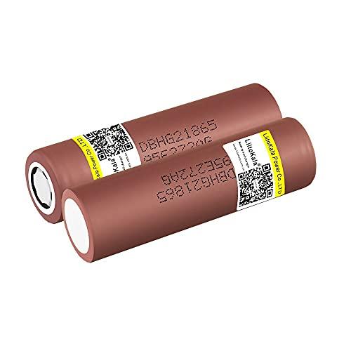 HG2 18650 3000mAh batería 18650 HG2 3.6V Descarga 20A dedicada para batería Recargable de energía hg2 3pcs