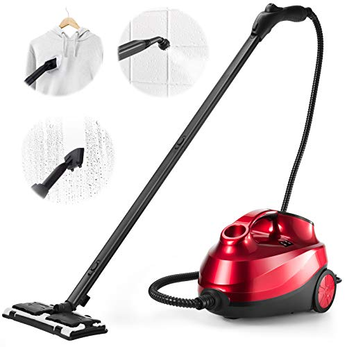 ARLIME Steam Cleaner with 19 Accessories, Portable...