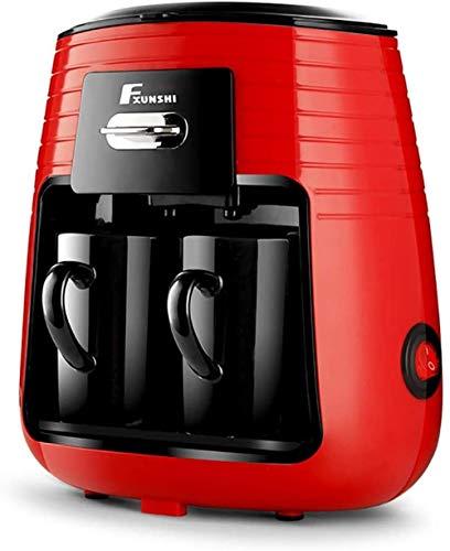 Koffiemachine Espressomachine Huishouden Koken Dubbele kop Druppelkoffiezetapparaat Stoom theemachine