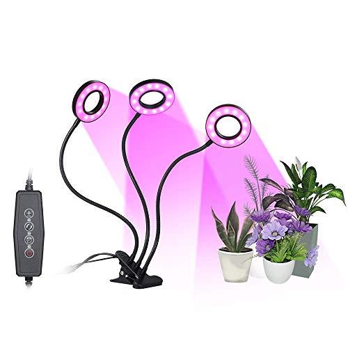 Lámpara de Plantas, Tomshine 27W 54 LED 3