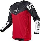 Fox Racing Kids' 180 Motocross Jersey, Flame Red, Youth Medium