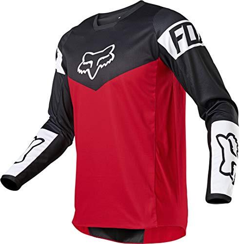 Fox Racing YTH 180 REVN Jersey, Flame Red, Medium
