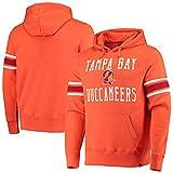 '47 Men's Orange Tampa Bay Buccaneers Double Block Throwback Pullover Hoodie