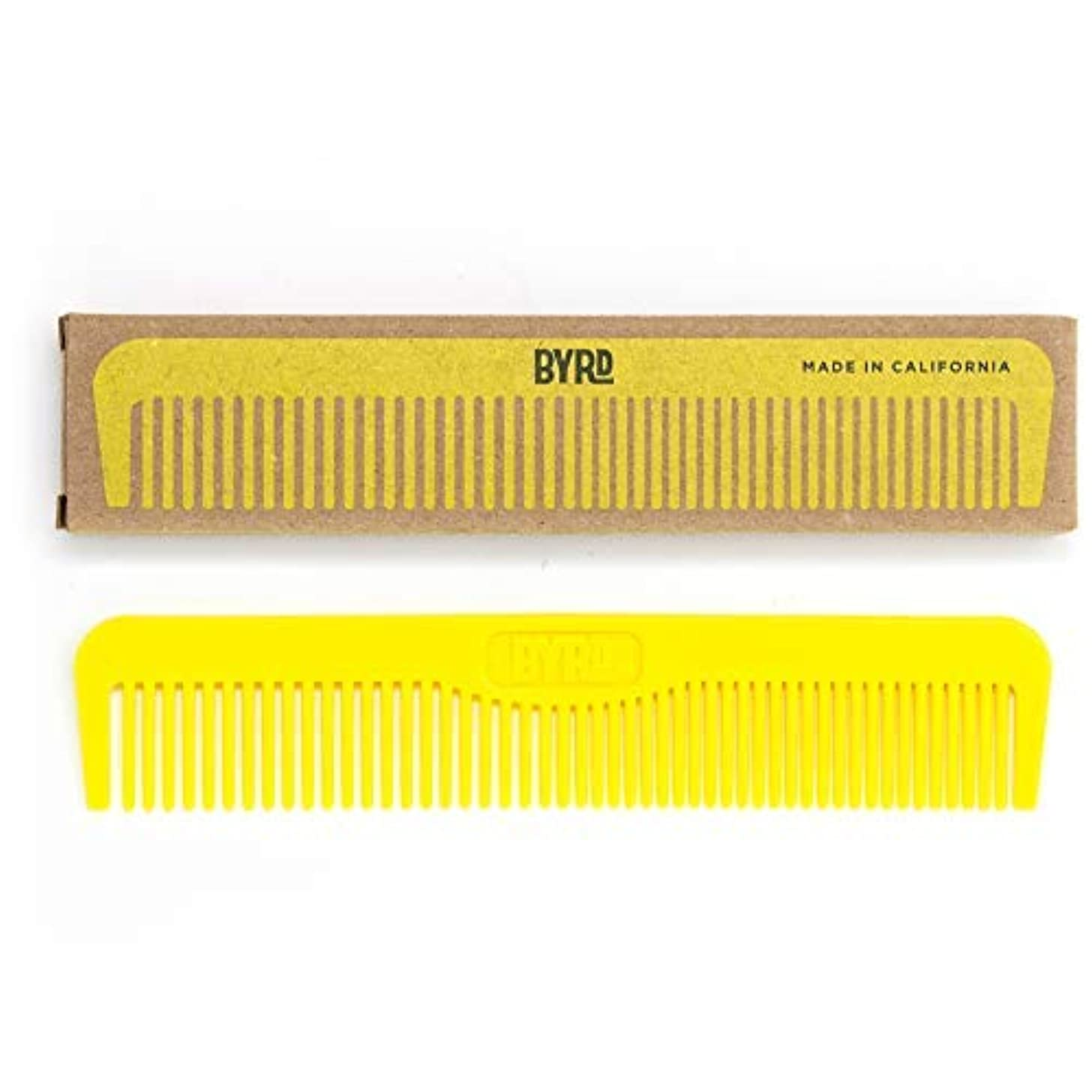 ごみセッティング罪人BYRD Pocket Comb - Durable, Flexible, Tangle Free, Styling Comb, For All Hair Types, Back Pocket Friendly [並行輸入品]