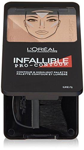 L'Oreal Paris Cosmetics Infallible Pro Contour Palette, Medium/Moyen, 0.24 Ounce by L'Oreal Paris