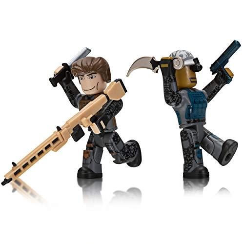 Roblox 2er Pack, Spielfiguren Set mit 2 Actionfiguren, bewegliche Action Sammelfiguren mit Zubehör und...
