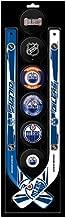 NHL Edmonton Oilers Mini Hockey Stick Foam Puck Play Set
