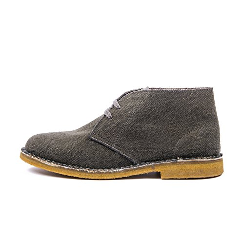 Risorse Future Men's Deserto Vegan Hemp Boot (11) Dark Gray