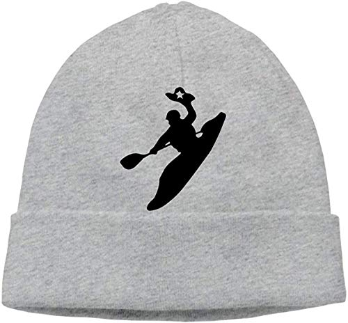 FFMMdogs Mens and Womens Skullies Beanies Rodeo Kayak Cute Toboggan Hat Sports & Outdoors Warm Hat Gray