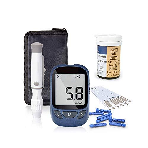 Glucosa en sangre kit de Exactive Vital control de la diabetes kit codefree tiras de prueba de glucosa en sangre x 25 y dispositivo de punción para diabéticos en mg/dL