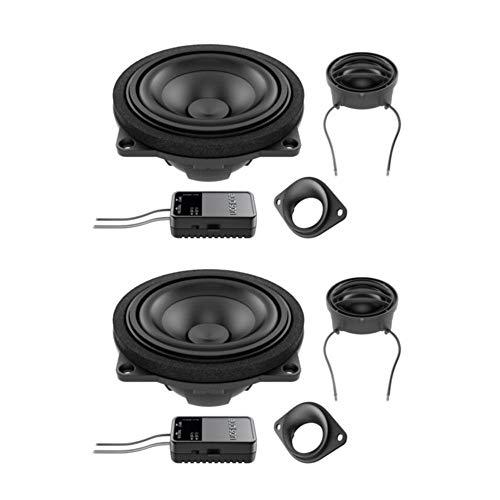 Audison APBMW K4E Compatibile per BMW e Mini Kit 2 Vie Tweeter Midrange Accessori Large Basket
